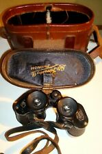 RARE VINTAGE CARL ZEISS JENA TURACT 8 X 24 BINOCULARS W/ CASE 1920´S ww1 germany