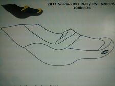 Seadoo 2009-12 RXT iS, GTX iS, GTX Ltd. iS Custom Cut Seat Cover 2010 2011 2012