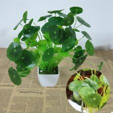 Colorful Artificial Lotus Leaves Plastic Plant Fake Bouquet Office Home Decor