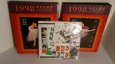 1998 US Commemorative Mint Stamp Year Set Sealed with Hardcover USPS Yearbook