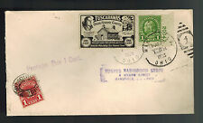 1935 Mansfield OH USA Postage Due Cover Tuscarawas Label