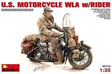 Miniart 35172 1/35 U.S. Motorcycle WLA w/Rider