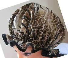 SHOWER CAP HAT  AUSTRALIA  HANDMADE, WATERPROOF beautiful animal print