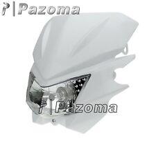 Dirt Bike Street Fighter Headlight Lamp Fairing For KLX CRM XR DRZ RMZ RM250 YZ