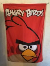 Red Angry Birds Large Wall Hanging