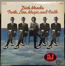 Dick Monda - Truth Lies Magic & Faith LP Mint- Promo V6-5077 Verve 1969 Stereo