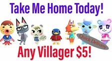 Animal Crossing Villager Quick Move-In!! Raymond Judy Audie Dom Sherb Marshal