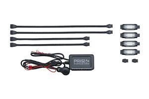 Kuryakyn 2800 Black Prism+ Core LED Kit w/ Bluetooth Controller Universal 12V