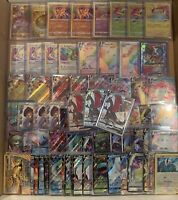 Pokemon Card Lot 100 OFFICIAL TCG Cards Ultra Rare Included - GX EX MEGA OR V!