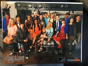 Degrassi Autographed Small Size Poster