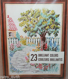 Charmin Janlynn Road to Friends 2824 Counted Cross Stitch 12x16 Opened