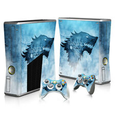 Xbox 360 Slim - Sticker Set Protective Skin Console & Controllers - 2038 - GOT