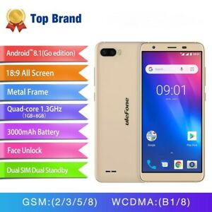 S1 Android 8.1 Quad Core 5.5'' Dual Sim HD Triple Camera 3000mAh Smartphone