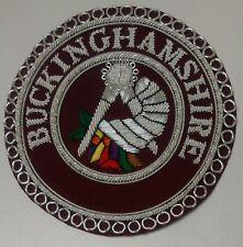 Craft Provincial Stewards Apron Badge - Buckinghamshire