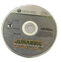 Jurassic: The Hunted - Xbox 360 game disc only dinosaur t kids