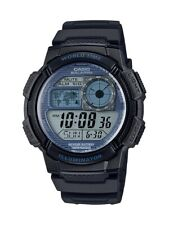 Casio AE1000W-2A2V, Chronograph Watch, 5 Alarms, 10 Year Battery, World Time