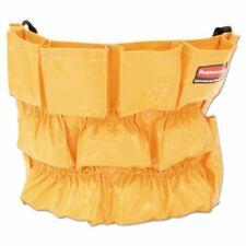 Rubbermaid 2642 Brute 32 & 44 Gallon Trash Can Caddy, Yellow (Rcp264200Yw)