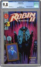ROBIN II JOKERS WILD 1 CGC 9.8 - JOKER Robin 2 ii ll -Batman Joker's 1991 Kelley