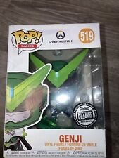 Funko Pop! Games: Overwatch - Genji (Sentai) #519 Blizzard ExclusiveVinyl Figure