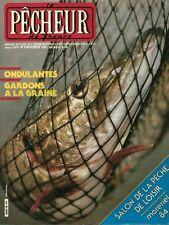 Revue le pêcheur de France No 9 Novembre 1983