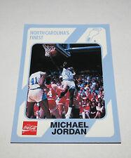 1989/90 Michael Jordan North Carolina Collegiate Collection Card #14 NM-Mint UNC