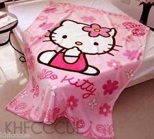 Hello Kitty Pink Plush Bedding Throw Blanket Quilt 140 x 100cm K103