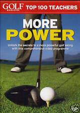 Golf Magazine Top 100 Teachers : More Power. NEW DVD