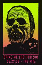 Bring Me The Horizon Zombie * 11 x 17 Original Concert Poster