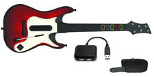 PS3 Guitar Hero 5 GUITAR Controller + USB Receiver rock band GH5 playstation 3 4
