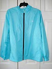Ladies Everlast Windbreaker Jacket Blue 3X New