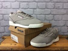 REEBOK UK 6 EU 39 TAUPE CREAM CLASSIC WORKOUT LOW TRAINERS MENS LADIES