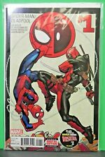 Spiderman Deadpool 1  Rare Hot Key NM 9.0 Marvel