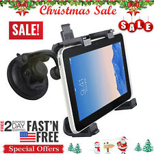 "Car Windshield Desk 360° Mount Bracket Holder for iPad 7""-10.5"" Tablet PC GPS US"