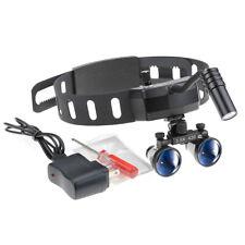 Dental 5w Led Headlight Headband Leather With 35x420mm Dental Loupes Dy 005