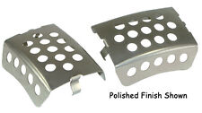 58321mu STAINLESS STEEL FRONT CALIPER SCREEN INSERTS FOR V-ROD & TOURING MODELS