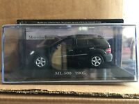 "DIE CAST  "" ML 500 2005 "" MERCEDES COLLECTION SCALA 1/43"