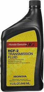 Genuine OEM Honda 08200-HCF2 2nd Gen CVT Transmission Fluid 1 Quart New USA