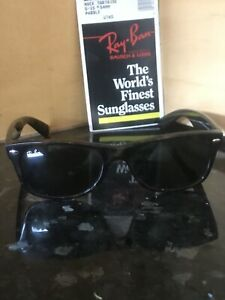 Ray Ban RB2132 NEW WAYFARER 902 55 18 3N 80s Brown Tortoise Shell Sunglasses