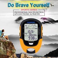 Waterproof Electronic GPS Altimeter Compass Temperature Hygrometer Flashlight