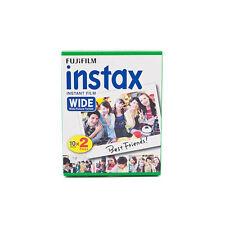1 Pack 20 Instant Photos Fuji FujiFilm Instax Wide Film Polaroid Camera 200 210