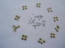 40 Nickel Silver Domed Collars Washer Pin repair of Sheffield Razor Wade Butcher