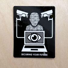 Alien Workshop skateboard vinyl sticker NSA anonymous camera data NWO ANON