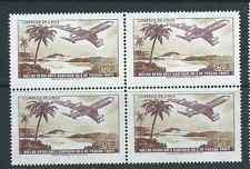 CHILE 1971 Easter Island Isla de Pascua Tahiti E°2.35 block of 4 MNH
