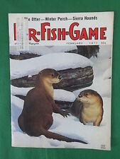 FUR-FISH-GAME A Harding's Magazine Cover Art by CHUCK RIPPER Feb. 1977