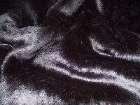 SHORT PLUSH Care Bear Faux Fur Fabric BLACK