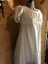 1812 Jane Austen regency 19th Century empire waist colonial Gown