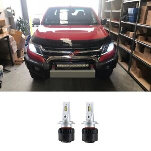 LED Conversion Kit Error Free Low Beam H7 For Holden Colorado 2015-2020