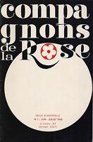 REVUE - COMPAGNONS DE LA ROSE N° 1 JUIN JUILLET 1968
