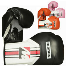 Manus Boxhandschuhe COOL für Boxen Kickboxen Fitnessboxen Sparring 10 12 14 oz