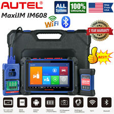 Autel IM608 Car Key Programming Diagnostic Tool OBD2 All System Scanner Tablet